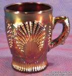 Beaded Shell: Mug Amethyst by Dugan